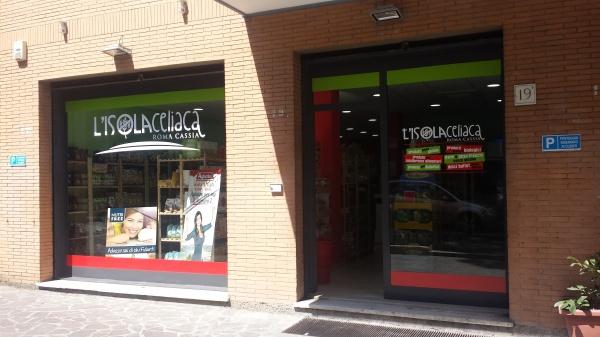 Negozio per celiaci a Roma