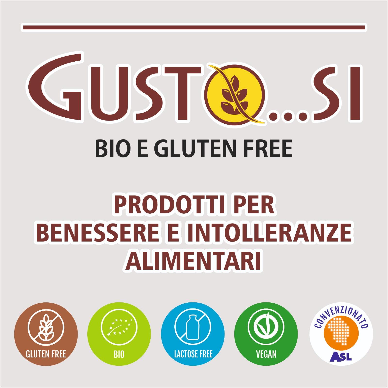 GUSTO...SI bio e gluten free